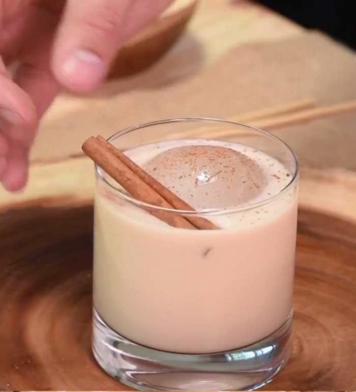 Creamy Gaur Cocktail
