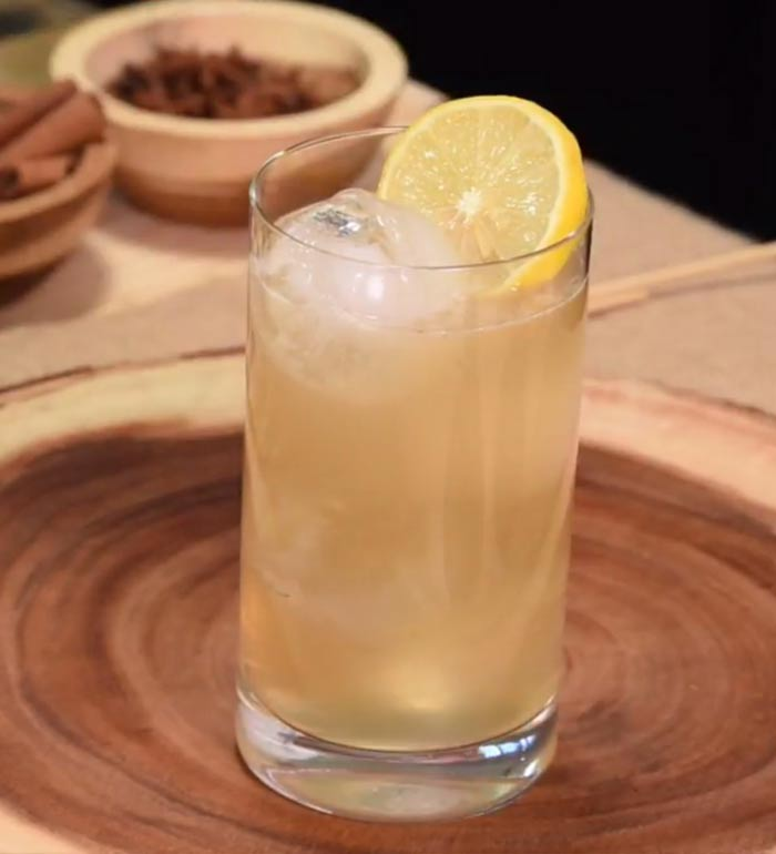 Gaurs Golden Brew Cocktail