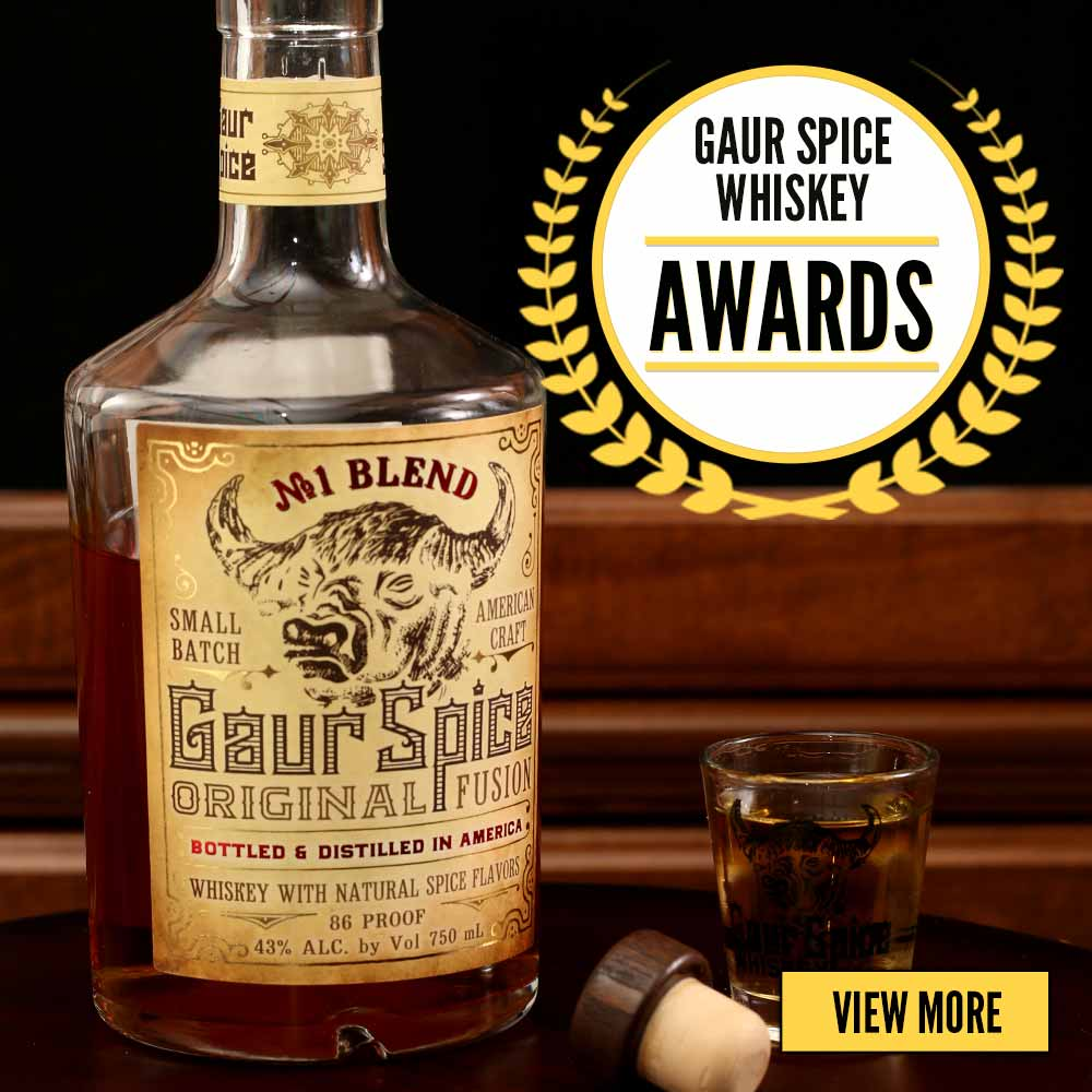 Gaur spice whiskey awards