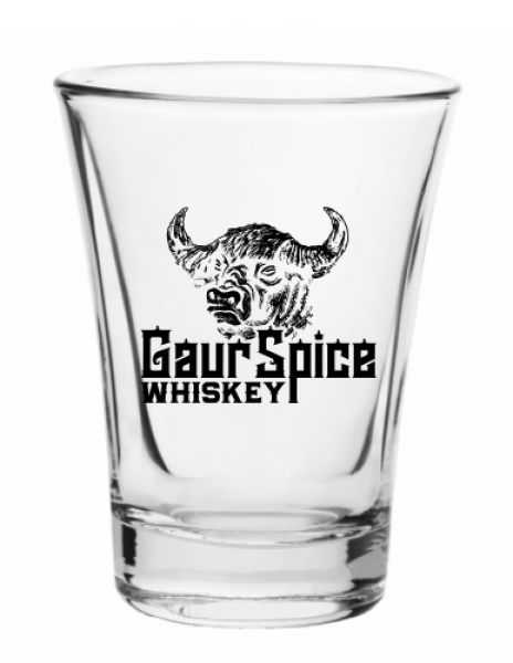 Gaur Spice 3.75oz Shot Glasses
