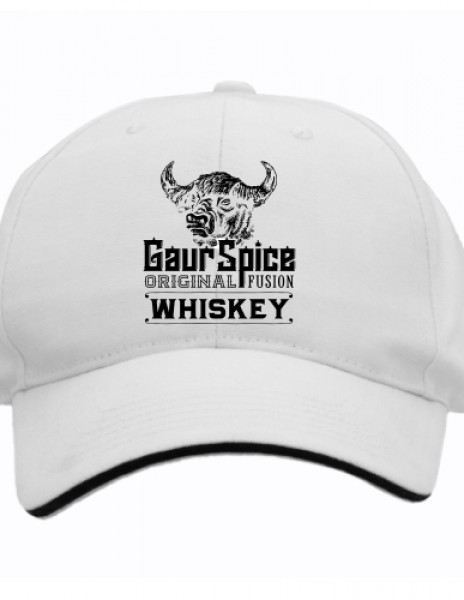 Gaur Spice polyester 6 panel caps
